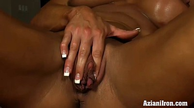 Big clit, Muscle solo, Naked, Angela