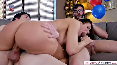 And son, Riding, Reagan foxx, Threesomes, Cougar, Cheerleader