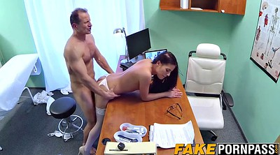 Hot doctor, Hot blowjob, Doctor office