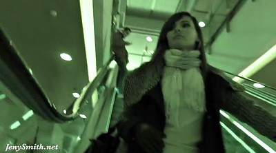 Spy cam, Public flashing, Jeny smith, Spy