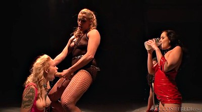 Group, Slave girl, Sex slave, Lesbian strap on