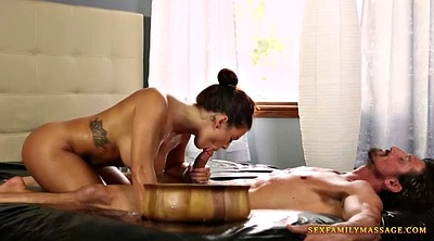 Daughter, Massage threesome, Daddy threesome, Daddy daughter