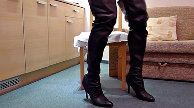 Boots, Leather, Hotel
