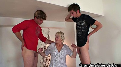 Old woman, Woman, Cleaning, Big woman, Two mature, Mature woman