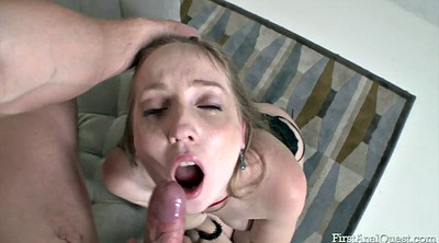 Russian, Russian anal, Anal virgin, Milky, White anal, Virginity