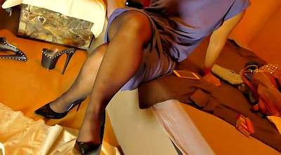 Pantyhose, High heels, Nylon pantyhose