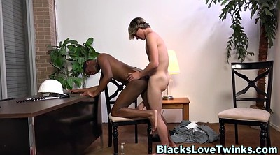 Gay, Anal interracial, Black twinks