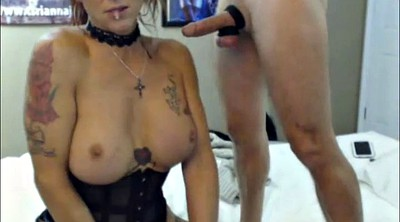 Breast, Ball, Shemale blowjob, Balls