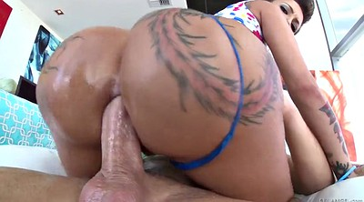 Oil, Monster cock anal, Monster ass, Big ass oiled anal, Anal ride