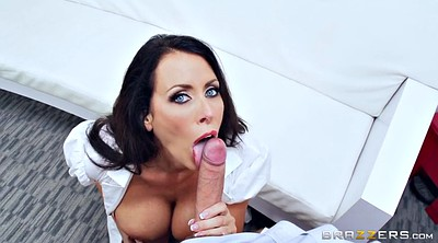 Nurse, Big tits deepthroat, Reagan, Monster cock, Busty nurse