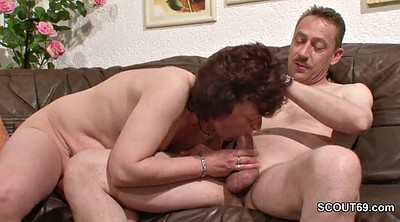 Mature mom, Mature casting, German mature