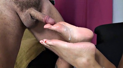 Foot fetish, Cum on soles