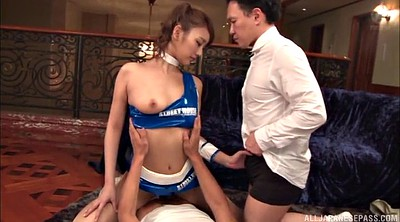 Japanese pantyhose, Double blowjob, Bouncing, Pantyhose handjob, Asian pantyhose, Japanese m