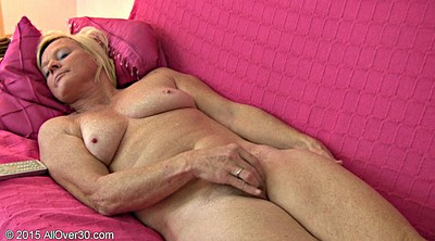 Blonde grannies, Show off, Juicy, Big granny