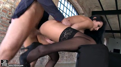 Stockings fuck, Stockings anal, Stocking fuck
