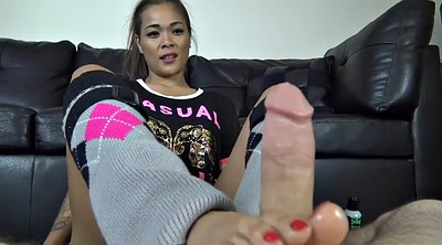Asian footjob, Pov foot, Asian foot