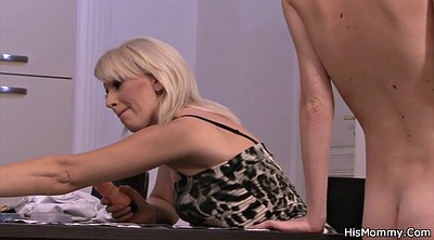 Granny, Old and young lesbian, Mature dildo, Granny lesbian