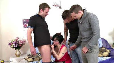 Mom boy, Young boy, Big tits mom, Mature boy, Granny boy, Mom gangbang