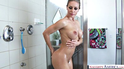 Nicole aniston, Gorgeous, Nicole aniston solo, Teasing, Soap, Shower solo
