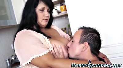 Granny, Mouth, Grandma, Mature anal