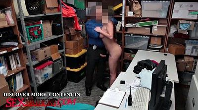 Shoplifter, Caught, Security, Now, Caught by