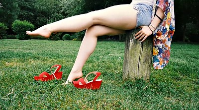 Red, Feet, Shoes