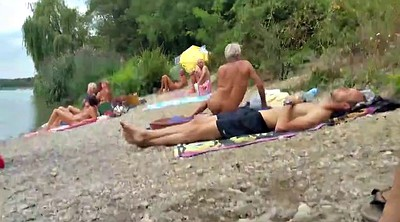 Beach, Grandpa, Nudist beach, At