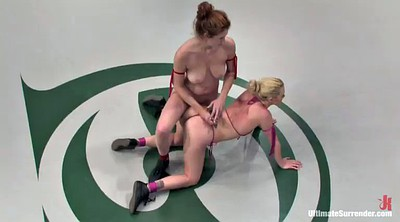 Wrestling, Strapon, Lesbian wrestling, Fighting