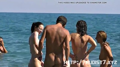 Nudes, Voyeur beach, Spread, Nude beach