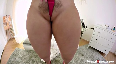 Hairy masturbating, Big milf