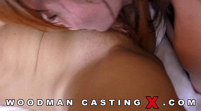 Agent, Anal casting, Threesome casting