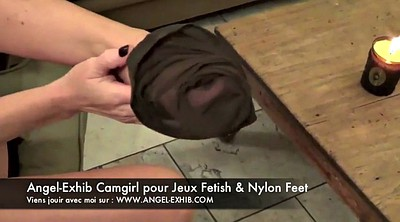Foot, Nylon feet, Nylons, Nylon foot