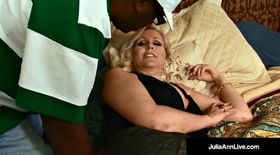 Julia, Julia ann, Big black cock