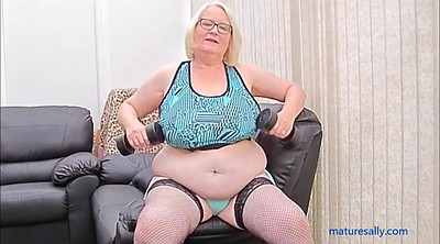 Bbw granny, Work out