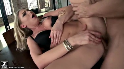 Anal creampie, Missionary creampie, Glamor