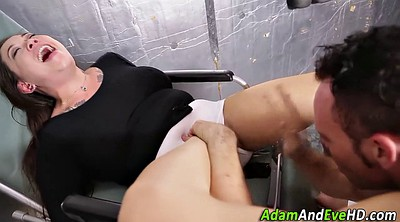Clothed, Asian deep throat blowjob