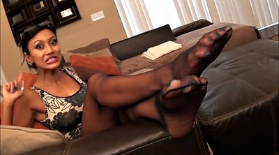 Nylon tease, Nylon feet, Foot tease, Feet tease