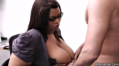 Ebony bbw, Boss