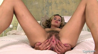 Gaping pussy, Hairy solo