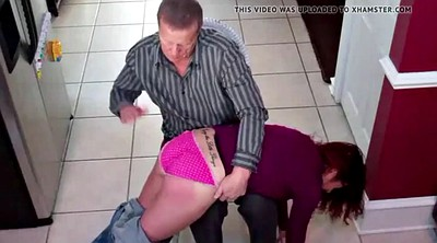 Spanked, Big butt