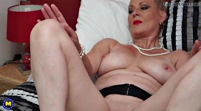 Perfect body, British mature, British granny
