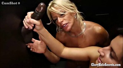 Gloryhole, Glory, Blonde milf