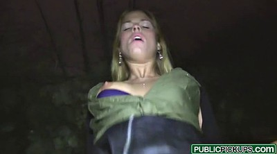 Public creampie, Picked up