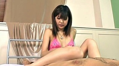 Asian foot, Japanese foot, Stroke, Japanese handjob