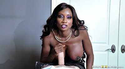 Diamond jackson, Huge black cock