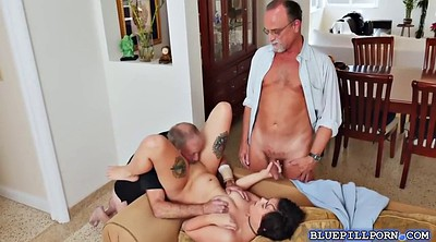 Old men, Granny threesome