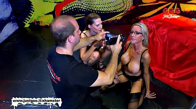 Behind the scenes, First gangbang