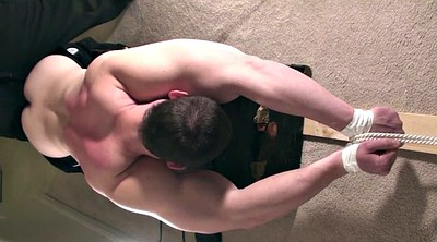 Strap, Gay bondage, Shooting, Muscle gay, Late, Gay muscle