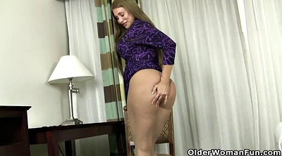 Pantyhose mature, High heels, Pantyhose milf