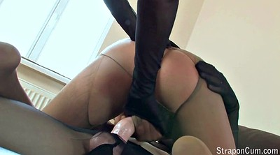 Pantyhose, Plug, Milf and young, Anal pantyhose